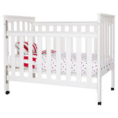 Sunbury Tiburon Cot/ Junior Bed - Featuring the internal 'platinum Safelock' two handed dropside mechanism. The Tiburon comes with two bedrails enabling conversion to a sturdy junior bed.