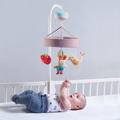 TAF Toys Musical Garden Mobile at Baby Barn Discounts Soothing mobile with 30 minutes of classical music, for baby's senses, cognitive skills and emotional intelligence development for Easier Sleep and Easier Parenting!