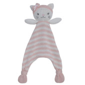 Living Textiles Knitted Security Blanket at Baby Barn Discounts Give your little one a friend to snuggle with our sweet 100% cotton knit security blanket.