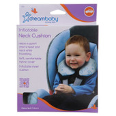 Dreambaby Inflatable Neck Cushion at Baby Barn Discounts Dreambaby Inflatable Neck Cushions make travelling safer and more comfortable for little ones.