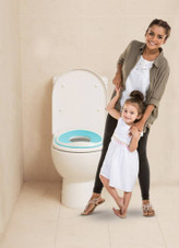 Dreambaby Ezy-Toilet Trainer Seat Aqua at Baby Barn Discounts Dreambaby EZY-Toilet Trainer Seat makes toilet training even easier.