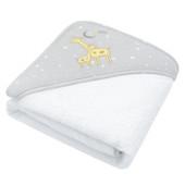 Living Textiles Hooded Towel Noah Giraffe at Baby Barn Discounts
