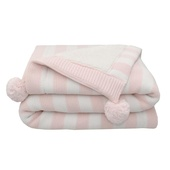 Living Textiles Pom Pom Sherpa Blanket at Baby Barn Discounts Living Textiles Pom Pom luxurious baby blanket ensures that your little one always has the cosiest sleep.