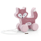 Viga PolarB Pull Along Animals at Baby Barn Discounts A sturdy wooden fox with a long pull along cord, great for imagination and motor skills.
