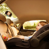 Brica Dual Sight Mirror at Baby Barn Discounts Connect with your little one as you drive with the BRICA Dual Sight Mirror.
