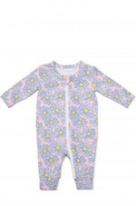 Marquise Daisy Zipsuit at Baby Barn Discounts A soft and stretchy zipsuit with a front zipper that extends from the neck to the ankle.