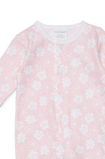Marquise Footed Growsuit- Pink Floral at Baby Barn Discounts