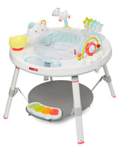 Skip Hop Silver Lining Cloud Activity Centre at Baby Barn Discounts A beautiful convertible activity table designed to grow with baby in three stages.