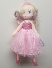 Cotton Candy Fairy Ballerina Plush PINK at Baby Barn Discounts Cotton Candy fairy ballerina plush doll comes with matching tiara, fairy wings & tutu.