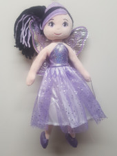 Cotton Candy Fairy Ballerina Plush PURPLE at Baby Barn Discounts Cotton Candy fairy ballerina plush doll comes with matching tiara, fairy wings & tutu.