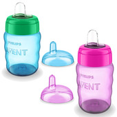 Avent My Easy Sip Cup 260ml at Baby Barn Discounts Avent My easy sip soft spout cup comes in 260ml recommended for 9m+.