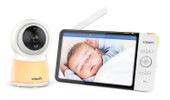 VTech Smart Wi-Fi RM7754HD Safety Video Monitor at Baby Barn Discounts VTech RM7754HD monitor comes with direct wifi mode is ready to use out the box for local monitoring between parent unit and camera.