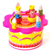 Toyslink Birthday Music Box at Baby Barn Discounts Wind up the key and watch the little people dance and spin.