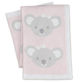 Living Textiles Knitted Koala Blanket 75 x 100cm at Baby Barn Discounts