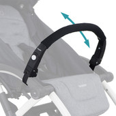 Bumprider Universal Bumper Bar at Baby Barn Discounts Bumprider Universal Bumper Bar fits any stroller in the world in an instant.