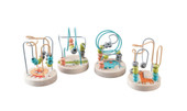 Kaper Kidz Small Jungle Animal Roller Coaster at Baby Barn Discounts A little pastel colored bead maze with a jungle animal theme.