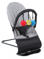 Vee Bee Baby Minder Bouncer FLEX GREY at Baby Barn Discounts Comfortable, secure and fun, the Baby Minder will provide hours of fun for your little one.