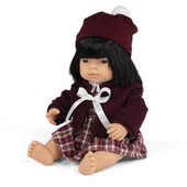 Miniland Doll Anatomically Correct Baby & Outfit Boxed 38 cm (UNDRESSED) - Asian Girl   Baby Barn Discounts