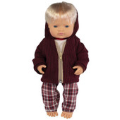 Miniland Doll Anatomically Correct Baby & Outfit Boxed 38 cm (UNDRESSED) - Caucasian Boy   Baby Barn Discounts