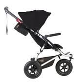 Mountain Buggy Swift v3.2 Black at Baby Barn Discounts Mountain Buggy Swift ultra-compact fold and air-filled wheels make the ideal all terrain.