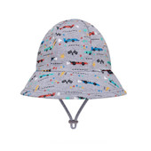 Bedhead Toddler Bucket Hat - Racer - On your marks... little car fans will be racing to our site to snap up these racing car hats!