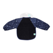All4Ella Waterproof Long Sleeve Bib STAR BLUE at Baby Barn Discounts All4Ella gorgeous bibs are not only functional but fashionable and have an adjustable neck