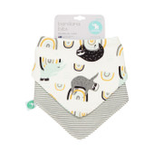 All4Ella Bandana Bibs 2pk SLOTH at Baby Barn Discounts All4Ella gorgeous bandana bibs are not only functional but fashionable.