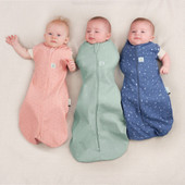 Ergopouch Cocoon Swaddle Bag 1.0 tog 3-6 Months at Baby Barn Discounts ErgoPouch cocoon 1.0 tog is an escape-proof swaddle which converts to a sleeping bag.
