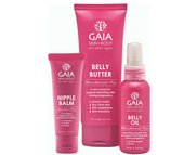 GAIA skincare range at Baby Barn Discounts GAIA Belly Oil promotes skin elasticity while your belly is stretching to accommodate your growing belly.
