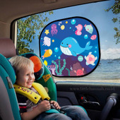 Bubble Cling Sunshade at Baby Barn Discounts Protection from sun glare and heat without restricting the view.