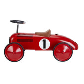 Johnco Metal Speedster Red at Baby Barn Discounts Johnco Red Speedster is made of strong, durable steel and has a small turning circle for little ones.