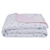 Living Textiles Organic Cotton Muslin Pram Blanket
