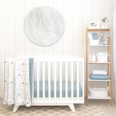 Living Textiles Organic Cotton Muslin Cot Blanket at Baby Barn Discounts