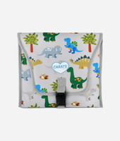 Cool Carats Car Seat Cooler Pad DINOSAUR at Baby Barn Discounts Car Seat Cooler from Cool Carats is great for running errands and protecting your little one's car seat when the car is left in the sun.
