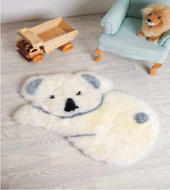 Auskin Souvenir Long Wool Large Animal Shape Floor Rug at Baby Barn Discounts Auskin's Premium decoration play rugs are the perfect addition to a child's bedroom or playroom.