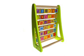 Tooky Toy Alphabet Abacus at Baby Barn Discounts Tooky toy alphabet abacus lovely wooden alphabet frame helps children with letter recognition