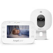 """Angelcare AC320 Video & Sound Monitor at Baby Barn Discounts Angelcare AC320 fantastic video and sound on the large 4.3"""" Parent Unit display."""