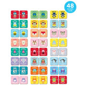 Skip Hop Zoo Crew Matching Memory Card Game at Baby Barn Discounts Skip Hop Zoo matching memory card encouraging memory, matching and turn-taking skills.