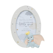 Disney Baby Magical Beginnings Dumbo Photo Frame at Baby Barn Discounts This keepsake photo frame featuring Disney's baby Dumbo surrounded by stars is a beautiful gift and a wonderful way to display photos of a new baby.