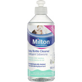 Milton Baby Bottle Cleaner 500ml at Baby Barn Discounts Milton Washing Up Liquid is the especially formulated for sensitive skin and is ideal to use for washing all baby and family items.