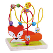 ToysLink Fox Maze at Baby Barn Discounts Toyslink fox maze allows you to move the colorful beads of different along the long the wires from one end to the other.