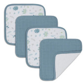 Living Textiles Organic Muslin 4pk Wash Cloth at Baby Barn Discounts Living Textiles designed to be soft and luxurious against your little one's delicate skin.