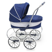 Valco Baby Princess Doll Stroller NAVY at Baby Barn Discounts Valco Baby Just Like Mum range mini princess doll stroller is a gorgeous dolls pram for those who like to push in style!