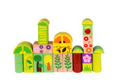 Tooky Toy Wooden Building Jungle Block 135pc | Baby Barn Discounts Building and designing made fun with this block set from Tooky Toy.
