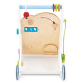 Le Toy Van Petilou Activity Walker at Baby Barn Discounts Le Toy Van wonderful and sweet activity walker is the perfect all in one toy for an adventurous toddler.