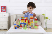 Tooky Toy Wooden Building Block 100 pcs   Baby Barn Discounts Tooky Toy building blocks will make the perfect addition to any child play room.