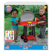 My Very Own Grill at Baby Barn Discounts My Very own grill from the American Plastic Toys Inc BBQ grill has everything you need for hours of fun.