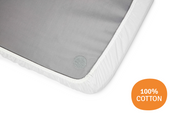 Aeromoov Fitted Sheet at Baby Barn Discounts Essential for over the mattress of the AeroMoov Instant Travel Cot is the fitted sheet.