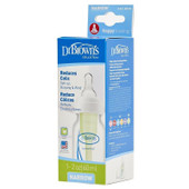 Dr Brown's Options Narrow Neck 60ml 1 Pack | Baby Barn Discounts Dr Brown's narrow neck option feeding bottle system.