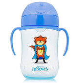 Dr Browns Soft Spout Toddler Cup with Handles 270ml at Baby Barn Discounts Dr Brown's soft spout transition toddler sippy cup.